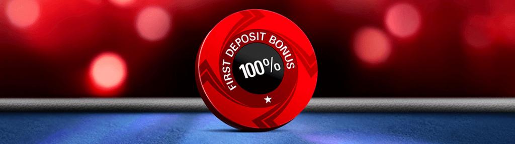 Pokerstars 1st deposit bonus